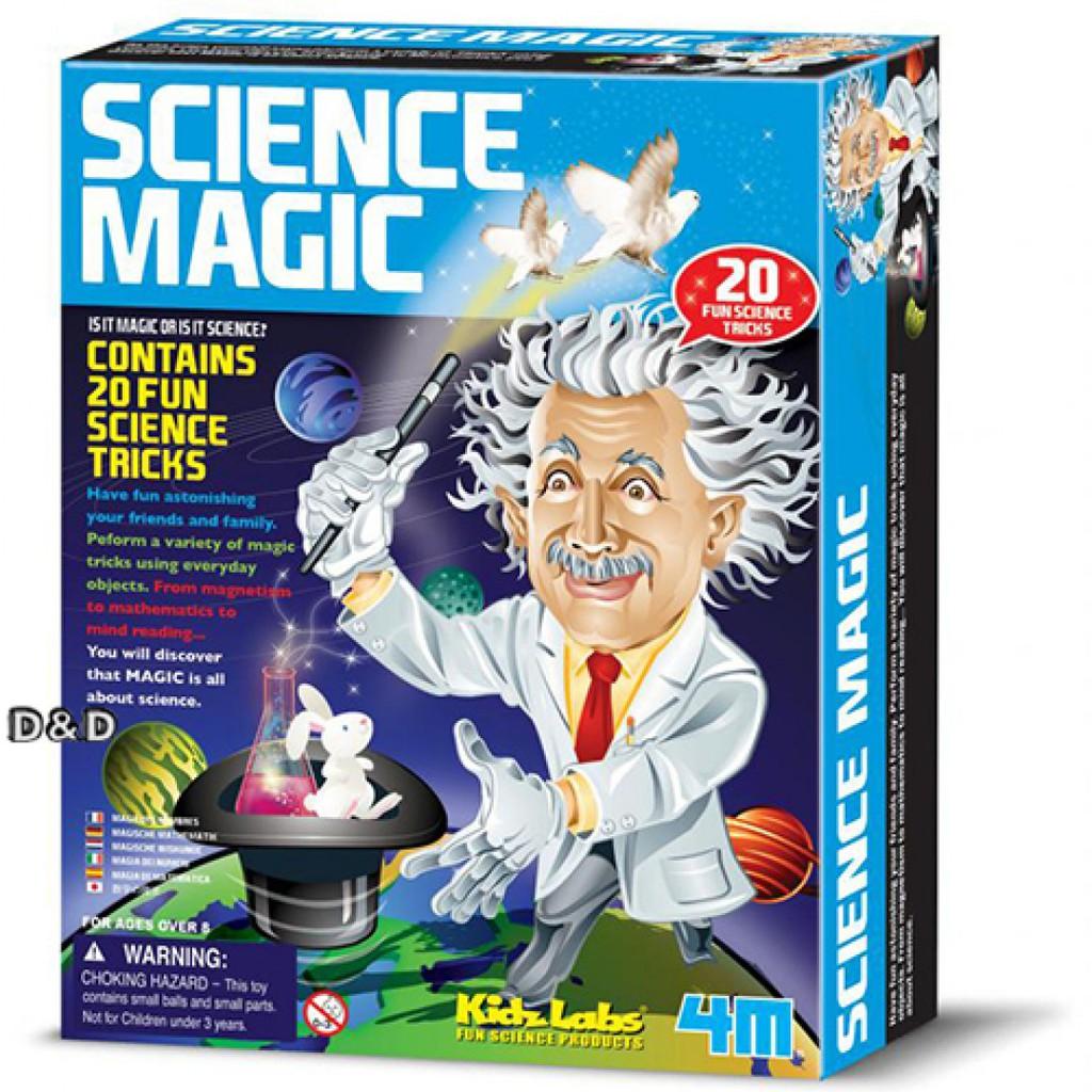 4M科學探索 Science Magic 科學魔術師 < JOYBUS >