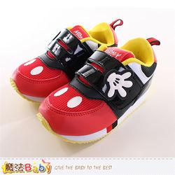 魔法Baby 童鞋 迪士尼米奇正版專櫃潮款運動鞋~sh9863