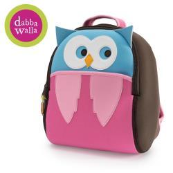 美國Dabbawalla瓦拉包 -貓頭鷹兒童後背包