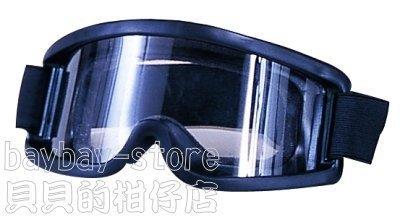 (安全衛生)野戰部隊護目鏡_PC鏡片海棉襯墊、適合生存遊戲及戶外工作及機車騎士