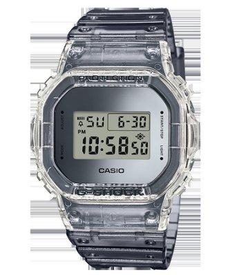 卡西歐 G-SHOCK半透明材復古風格 DW-5600SK-1 DW-6900SK-1 GA-700SK-1A