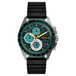 FOSSIL Sport 54 爆裂計時腕錶 綠x黑 42mm CH3091