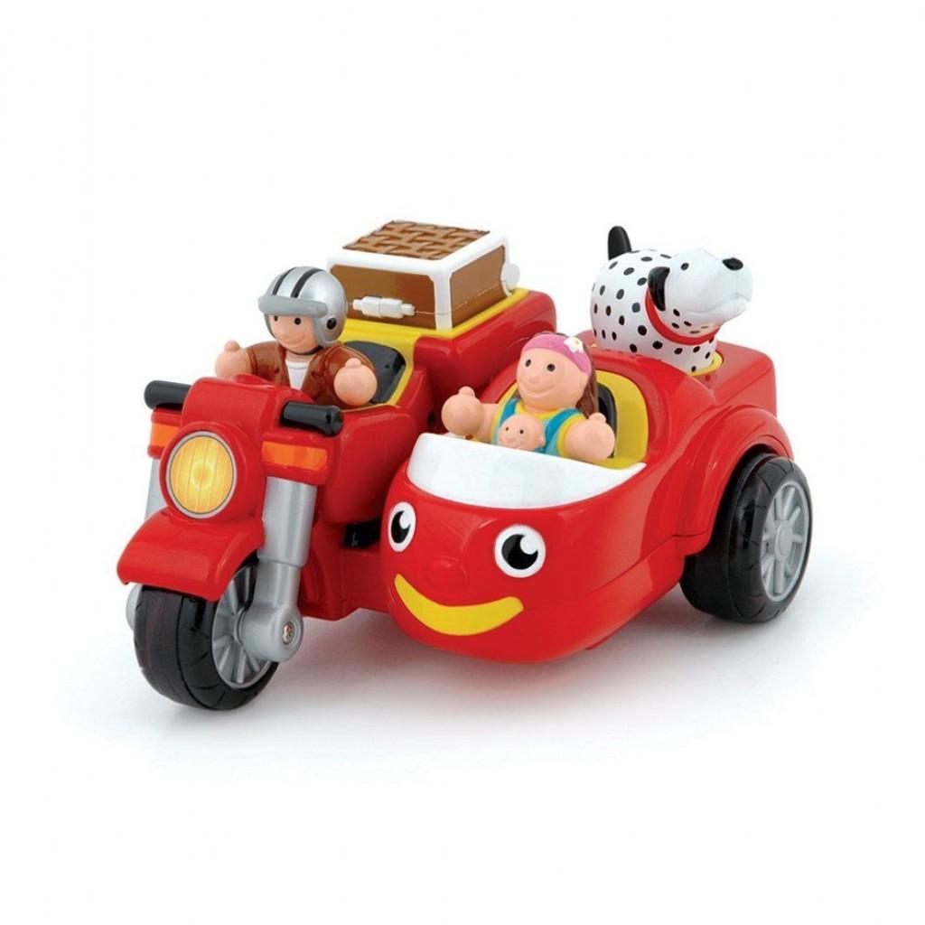 英國 WOW toys 三輪摩托車 麥克斯
