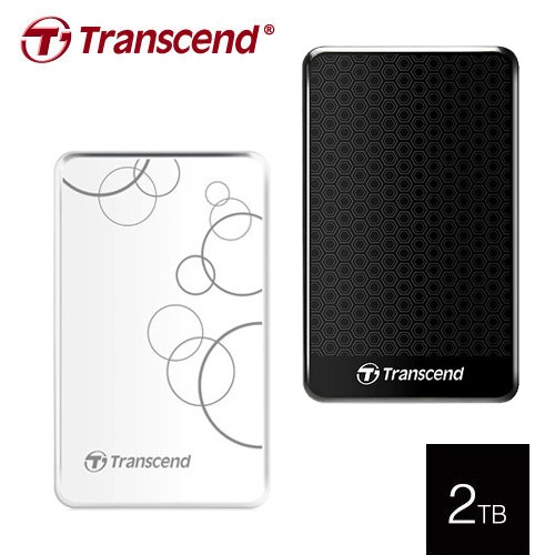 Transcend 創見 25A3 2TB USB3.0 2.5吋 行動外接硬碟