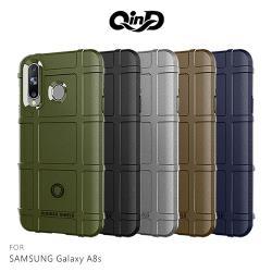 QinD SAMSUNG Galaxy A8s戰術護盾保護套
