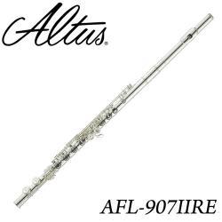 【Altus 日本品牌】標準款手工長笛 開孔加E鍵 公司貨(AFL-907II RE)