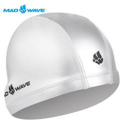 俄羅斯MADWAVE成人舒適彈性泳帽PUT COATED