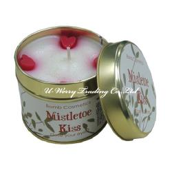 Mistletoe Kiss  期待您的愛鐵罐香氛蠟燭