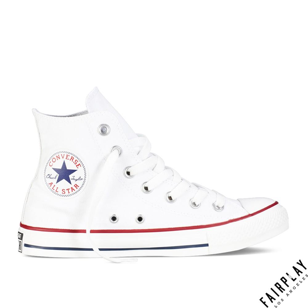 Converse Chuck Taylor All Star 白 男鞋 女鞋 高筒 基本款 經典款 帆布鞋 M7650C