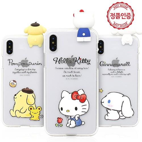 韓國 KITTY 布丁狗 手機殼 透明軟殼│Note20 Ultra + Note10 Note9 Note8