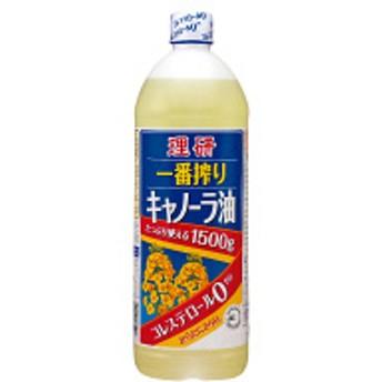 理研 一番搾りキャノーラ油 1500g