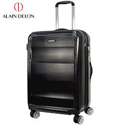 ALAIN DELON 亞蘭德倫 25吋極致碳纖維紋系列旅行箱(黑)