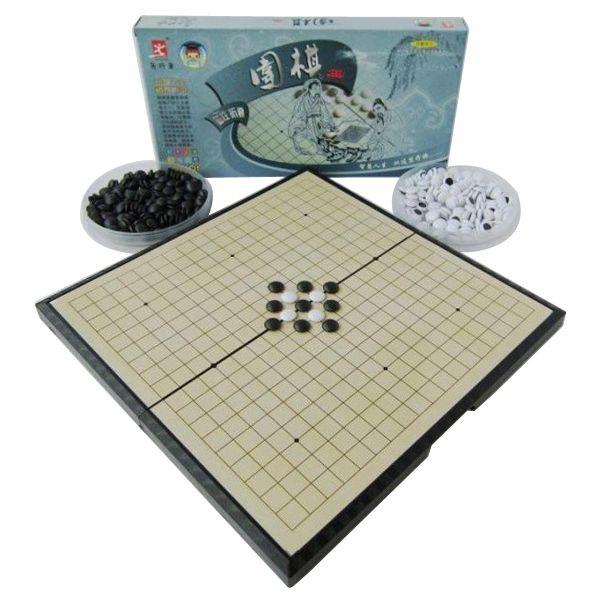 磁性圍棋 摺疊磁石棋盤 五子棋 黑白棋 收納方便 好攜帶