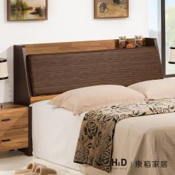 H&D 巴菲特5尺床頭箱