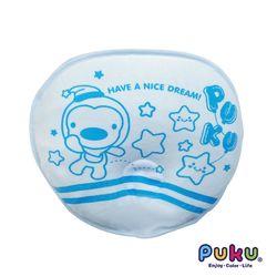 PUKU藍色企鵝 塑型乳膠枕-30*25*5.7cm-水色
