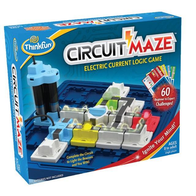 獲得美國最佳推薦玩具(Parent's Choice)金獎! 設計理念▶ 好玩又具挑戰性的迷宮遊戲,透過親手鋪排,運用特殊供電器, 搭配正、負極路徑座、電流控制器與紅黃綠三種顏色的LED信號燈, 設計