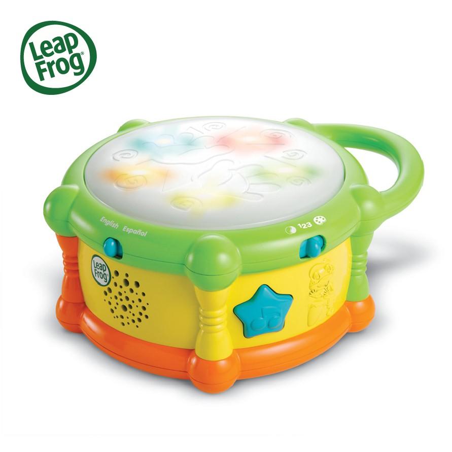 LeapFrog 跳跳蛙 繽紛彩色學習鼓【甜蜜家族】