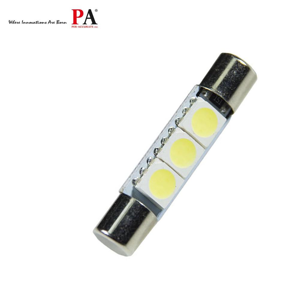 【PA LED】Mazda 3 6 CX3 CX5 保險絲型 29MM / 31MM 3晶 SMD LED 藍光 化妝燈