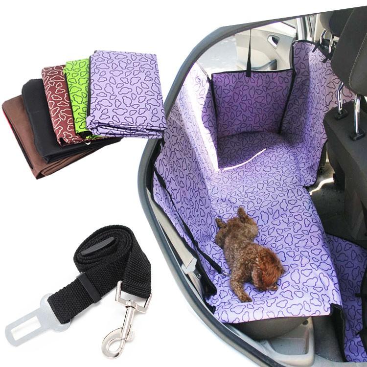 車用寵物墊 動物防護套防水 防汙 車床 後座墊 防護墊 狗貓 台灣出貨 現貨