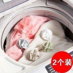 【八八八】e網購~【魔力去汙防纏繞打結洗衣球2個裝 LA295】NO135洗衣用品
