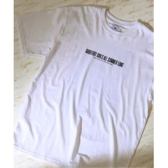 417 EDIFICE KOBAK AKIRA 別注 BAREFOOT GIRLS TEE ホワイト L