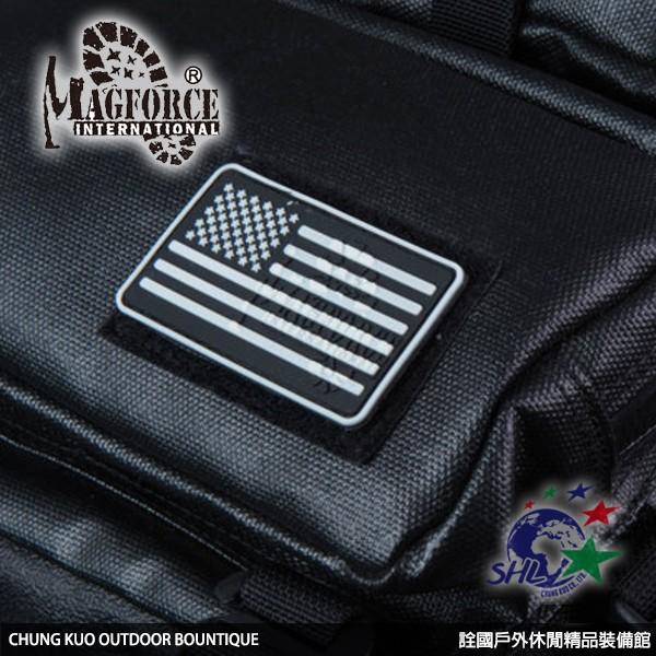 Magforce 魔鬼氈 氈黏布標 / 美國國旗 / 臂章 / 魔鬼氈布章 / MP9105 【詮國】