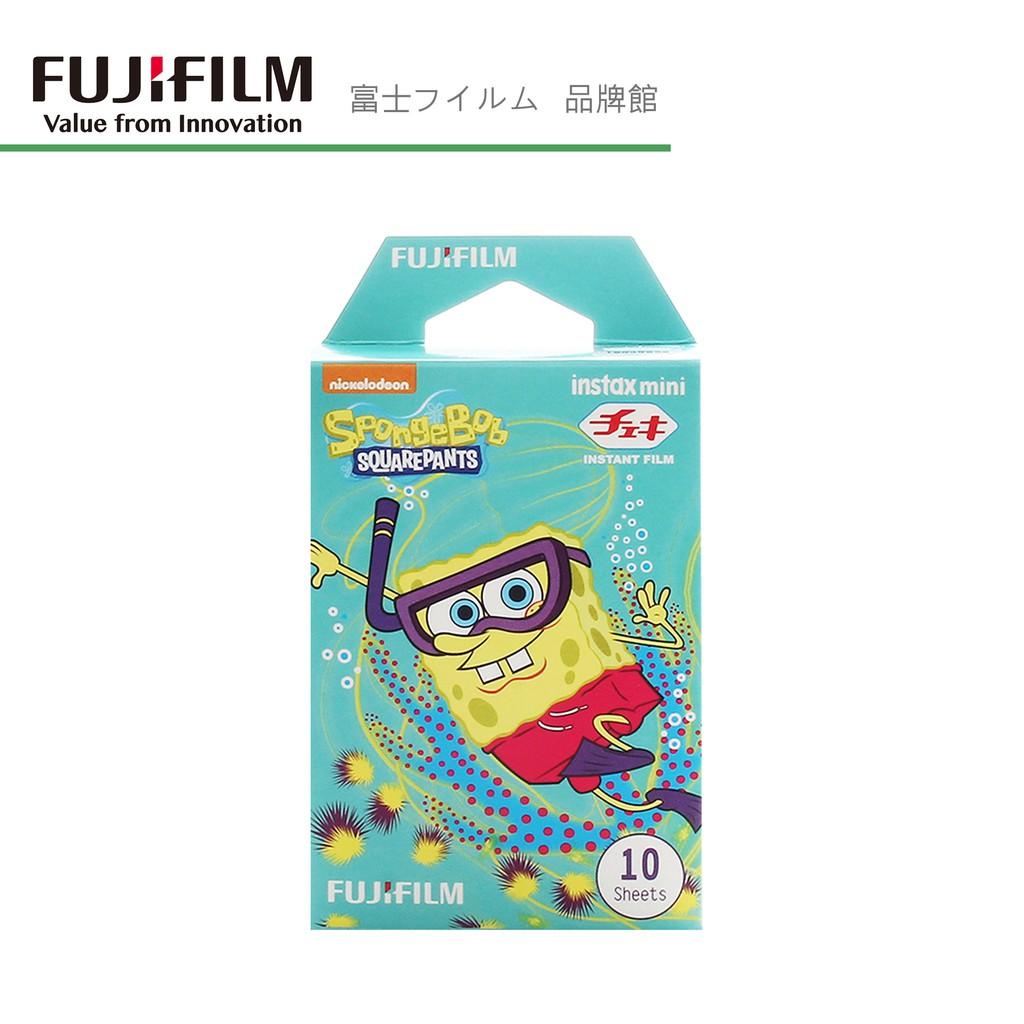 FUJIFILM 富士 拍立得 instax mini 海綿寶寶 潛水 底片 過期底片 特價179元