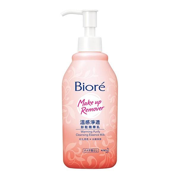 Biore溫感淨透卸粧精華乳200ml【康是美】