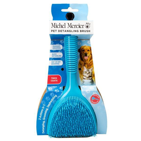 Michel Mercier專利點點按摩刷毛梳
