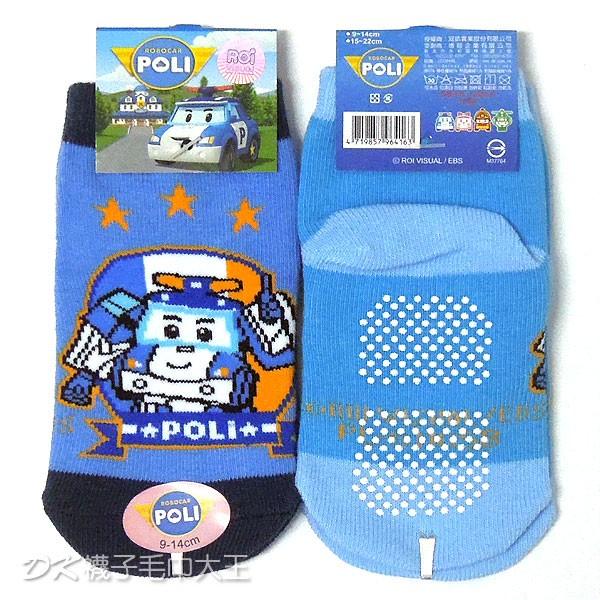 POLI 波力止滑直板襪 嬰兒襪 比讚款 PL-S1105B【DK大王】