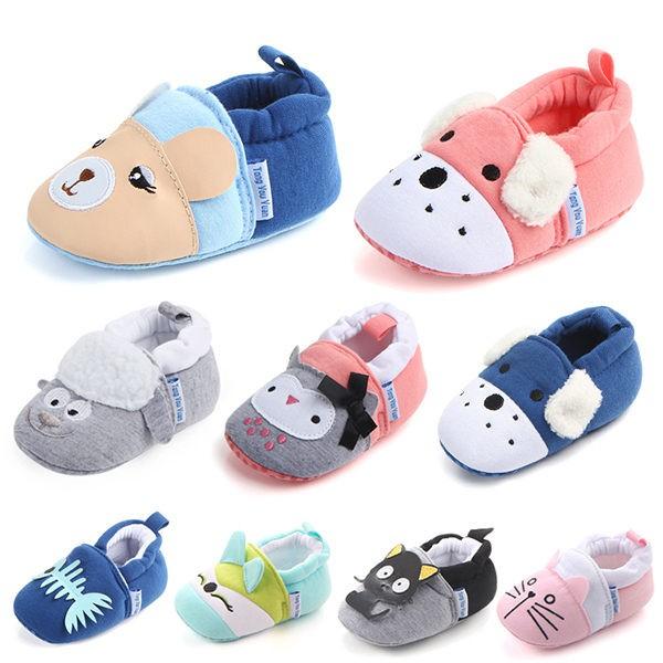8種動物造型寶寶學步鞋 軟底嬰兒鞋(11-13cm) MIY0758 好娃娃