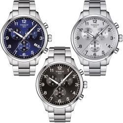 TISSOT天梭 韻馳系列 Chrono XL計時手錶-45mm 三色任選