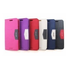 Apple IPhone7/I7 Plus 隱形磁扣磨砂紋(完美套)手機側翻立套 側掀套
