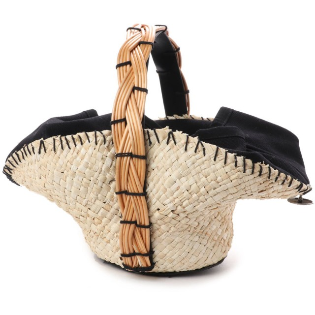 kakatoo カカトゥ メイズ帽体柳ハンドルかごバッグ