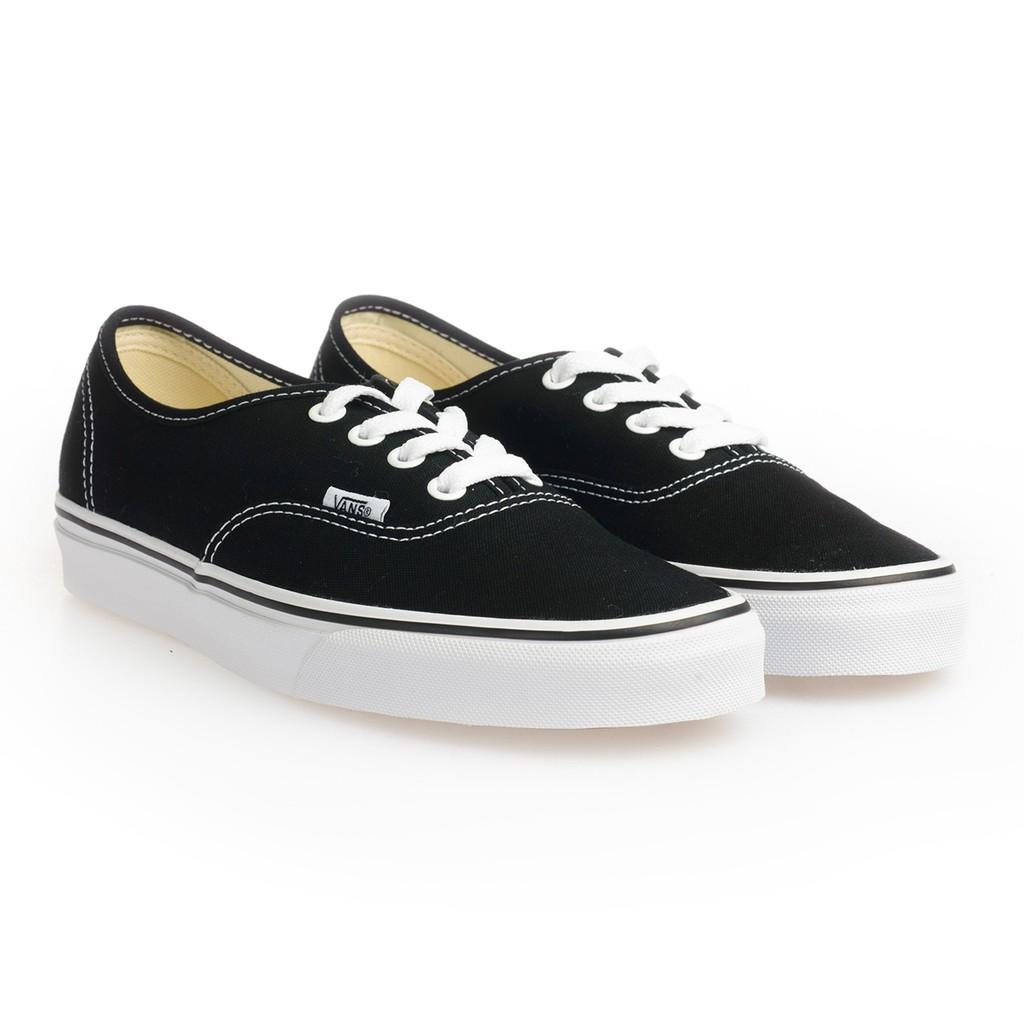 VANS VN000EE3BLK C010499 AUTHENTIC SHOES 基本款 帆布鞋 (黑白) 化學原宿