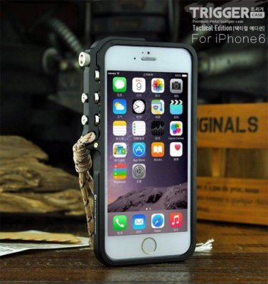 ⚡️雷神機甲X814⚡️三色X i Phone 6s-7-8 Plus機械手臂⚡️防摔鋁合金屬邊框背蓋手機殼保護殼