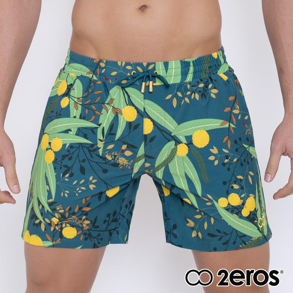 2EROS金合歡內部網眼快乾男海灘褲L2-S5137ACG1