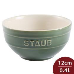 Staub 餐碗 綠色 12cm