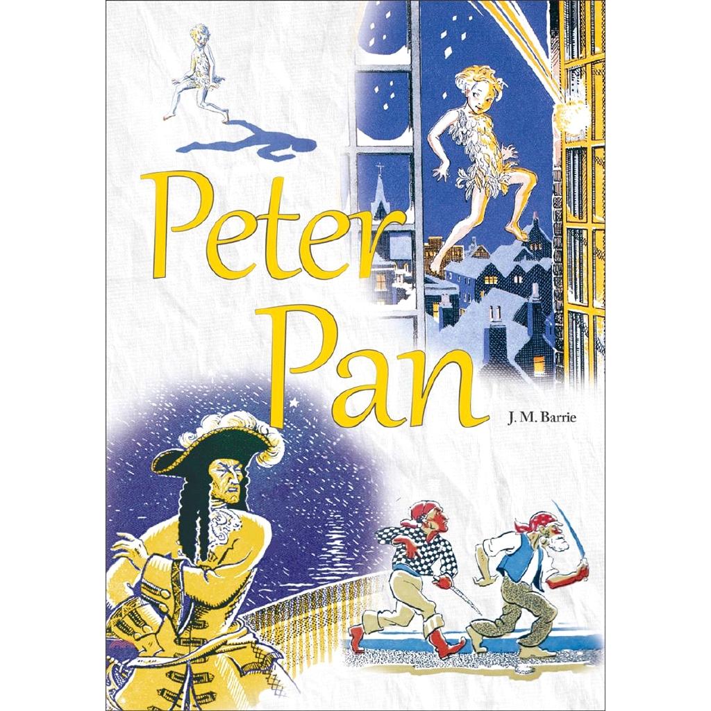 《寂天文化》Peter Pan(原著彩圖版)[9折]