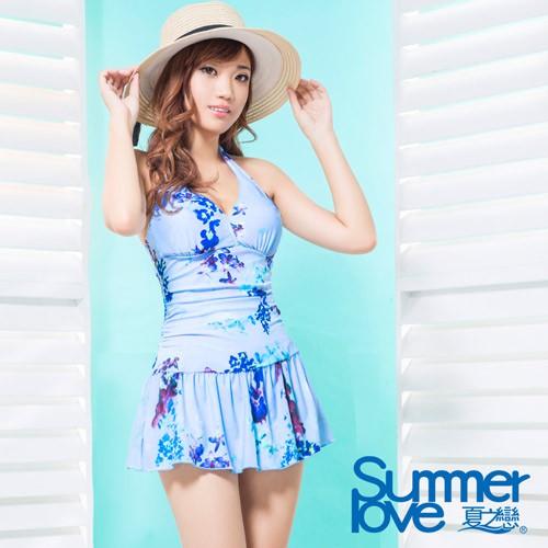 夏之戀SUMMER LOVE大女連身裙-S17702