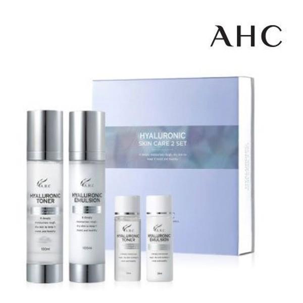 韓國 AHC 高效B5神仙水乳液四件組