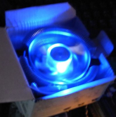 ...點子電腦-北投...◎青鳥III 青鳥3 CPU風扇鋁 藍光版◎滾珠風扇1156/LGA775/AM2/AM3,190元