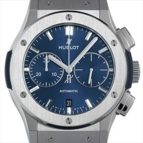 48回払いまで無金利 ウブロ クラシックフュージョン クロノグラフ チタニウム ブルー 521.NX.7170.LR 未使用 メンズ 腕時計