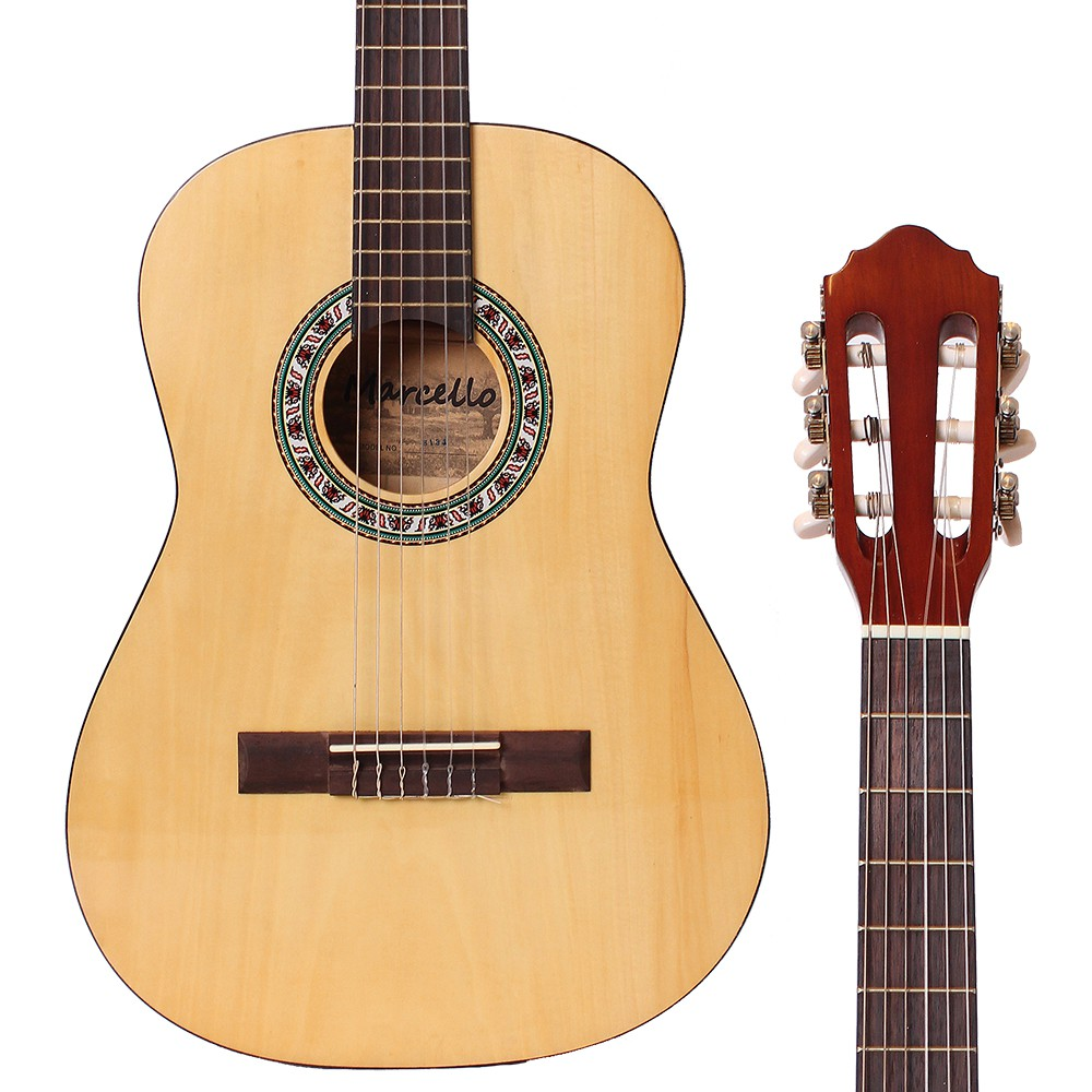 【全館折300】Marcello 36吋 兒童古典吉他 兒童吉他 旅行古典吉他 古典旅行吉他 雲杉 非吉他麗麗 S134