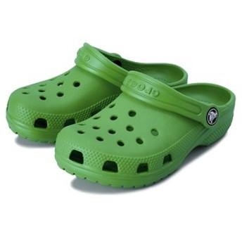 キッズ 【crocs】 クロックス Classic Clog K (14-20) クラシック クロッグ 204536-3E8 Grass Green 15cm