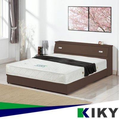 【床頭箱】 雙人5尺 麗莎仿木紋光滑面 台灣自有品牌 KIKY