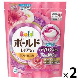 アウトレットP&G ボールドジェルボール3D 癒しのプレミアムブロッサムの香りつめかえ用 1セット(36粒:18粒入×2パック)