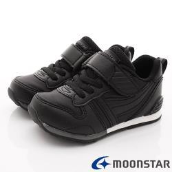 MOONSTAR-日本月星頂級童鞋 HI系列2E機能款 MSC2121PL6黑(中小童段)