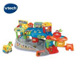 【Vtech】嘟嘟車系列-探索城市軌道組 (含嘟嘟聲光拖車1台)