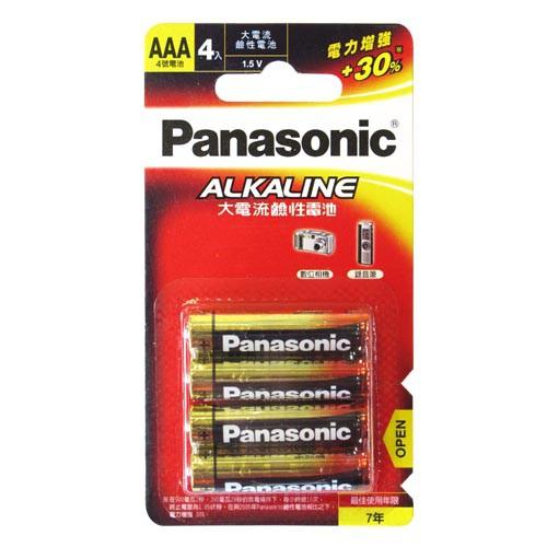 Panasonic 國際牌 4號鹼性電池(4入)
